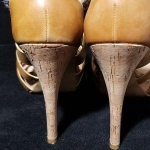 Marc Fisher Shoes - Marc Fisher Cork Sandal Heel  stiletto size 9
